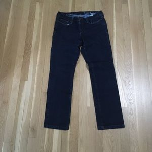 8 Long Eddie Bauer Curvy Slim Straight Jeans